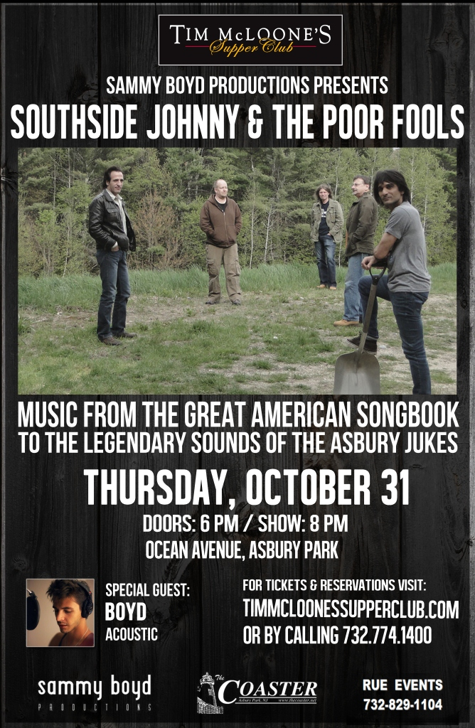 SOUTHSIDE JOHHNY & THE POOR FOOLS